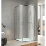 Shower Glass - Hydro Series (1000x1000x1900mm) Sliding Doors